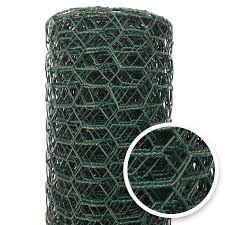 Acorn International 25 Ft X 2 Ft Green Galvanized Steel Post And Rail Garden Poultry Netting Rolled Fencing In The Rolled Fencing Department At Lowes Com