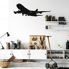 Boeing 747 Designed Wall Stickers Aviation Shop