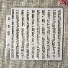5 1inch Wavy Fence Line Diy Layering Stencils Painting Scrapbook Coloring Embossing Album Decorative Card Template