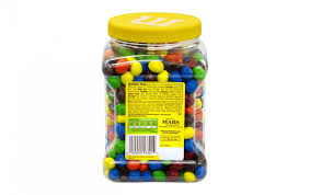 milk chocolate peanut candy 62 ounce jar