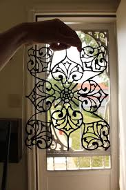 diy faux stained glass tutorial
