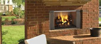wood burning fireplace traditional