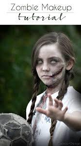 kids zombie makeup tutorial saubhaya