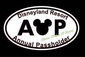 Disneyland Annual Passholder Car Decal Disney Car Decal Etsy