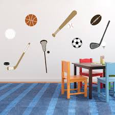 Pick Your Sports Vinyl Wall Decal Sports Theme Decor