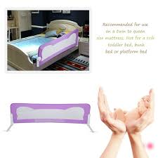 Folding Baby Toddler Guardrail Guard Bar Safety Sleeping Infant Child Bed Fence 102 42cm For Children S Bed Wish