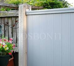 Pvc Plastic Fence Panels Reinforced With Metal Profile Garden Fencing 57 98 Picclick Uk