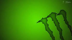 energy drinks green background logo
