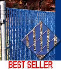 Chain Link Fence Slat Fence Privacy Bottom Lock