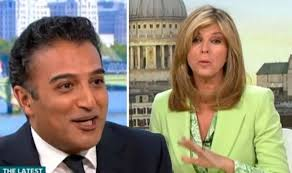 ITV Good Morning Britain: Adil Ray left red faced after gift ...