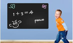 Up To 25 Off On Blackboard Wall Decal Stick N Groupon Goods