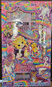 Lisa Frank Stickers Set Over 850 On 4 Giant Rolls Cute And Collectible For Sale Online Ebay