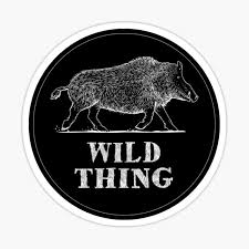Wild Thing Stickers Redbubble