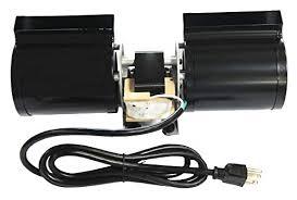 gas fireplace blower fan for heatilator