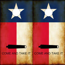 Cornhole Wraps Rustic Texas Flag Come And Take It Vinyl Decals Skins 2pack Ebay