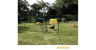 Omlet Chicken Netting 12 Metres Inc Gate And Double Spike Poles Amazon De Pet Supplies