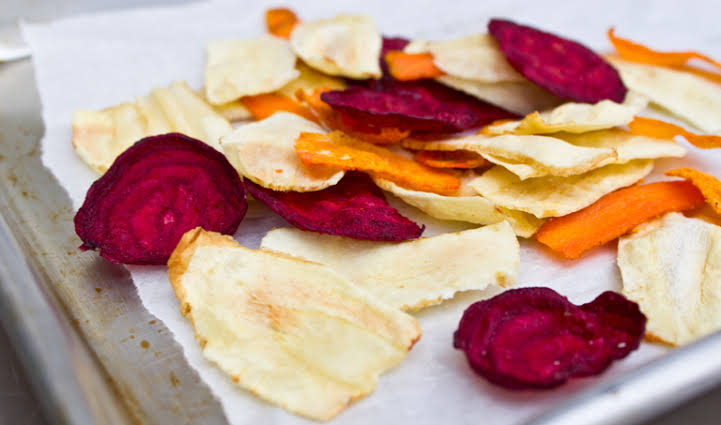 Image result for root veggie chips""