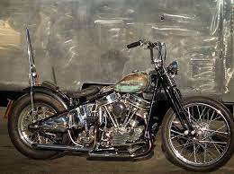 panhead motorcycle chopper bobber