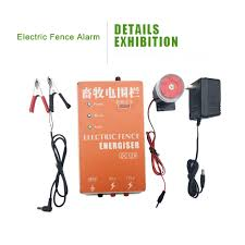 5km Solar Electric Fence Alarm Energizer Charger Controller Animal Sheep Horse Cattle Poultry Farm Electric Fencing Shepherd Leather Bag