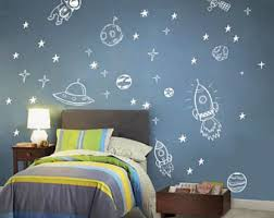 Space Wall Decals Etsy