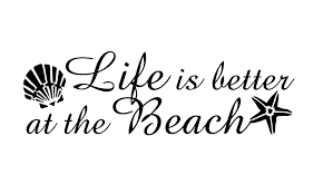Life Is Better At The Beach Decal Custom Vinyl Car Truck Window Beach Customvinyldecals4u