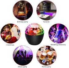 Usb Rechargeable Powered With Remote Control Dj Lights Stage Light For Kids Birthday Home Room Parties Wedding Show Club Pub 16 Color Party Lights Disco Ball Tools Home Improvement Disco Ball Lamps