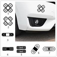 Fun Cross Band Aid Covering Scratch Decals Car Styling Car Sticker Wish