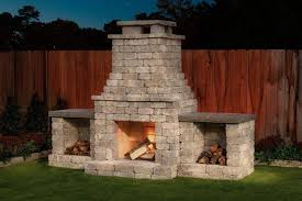 indoor gas fireplace insert outdoor
