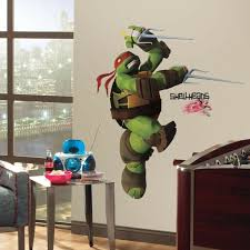 Teenage Mutant Ninja Turtles Raphael Giant Wall Decals Stickers Kids Room Decor 34878655376 Ebay