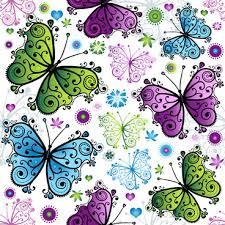 cute erfly wallpaper pattern free