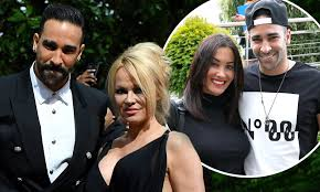 Pamela Anderson accuses boyfriend Adil Rami of CHEATING | Daily Mail Online