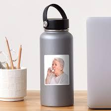 Grandma S Inhaler Sticker By Axgendy Redbubble