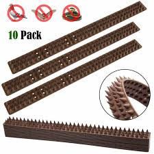 10pcs Plastic Spikes Practical Squirre Birds Pigeons Cat Deterrent Tool For Outdoor Garden Fence Wall Off Harmless To Animal Repellents Aliexpress