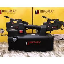 Máy rửa xe áp lực cao chính hãng HIROMA MODEL MỚI NHẤT 2018 động cơ cảm ứng  từ êm ái, tự hút nước