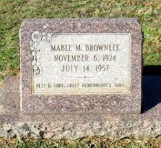 Mable Smith Brownlee (1924-1957) - Find A Grave Memorial
