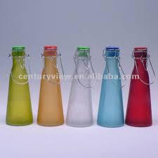 colored glass bottles bulk glass milk