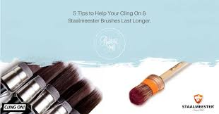 cling on staalmeester brushes