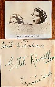 ETHER REVNELL, GRACIE WEST (WITH SM PHOTO) & BERYL ORDE AUTOGRAPHS | eBay