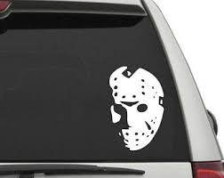 Friday The 13 Decal Etsy