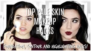makeup hacks for pale skin