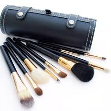 9pcs makeup brush set professional make