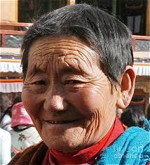 Tibetian Woman Photograph by Cindy Lathrop