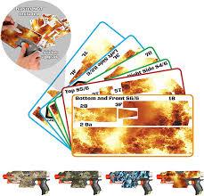 Amazon Com Blastr Wrapz Gun Not Included Sticker Decals For Nerf Stryfe Modulus 1 Pack Custom Toy Blaster Vinyl Skin Upgrade Mod Kids Teens Adults Fire Toys Games