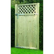 V Arched Fence Gate Wooden Supplies
