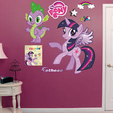 Shop Fathead Twilight Sparkle Spike My Little Pony Wall Decals Overstock 9601357