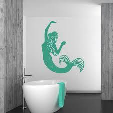 Mermaid Fairy Tale Wall Sticker Ws 32676 Ebay