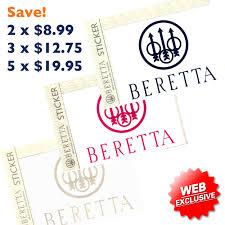 Beretta Single Window Decal Stoeger Canada