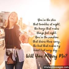 will you marry me quotes proposal messages for him