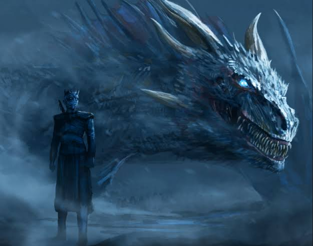 dragon and night king