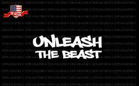 Beast Slide 2 Unleash Funny Racing Jdm Muscle 4x4 Car Decal Window Vinyl Sticker